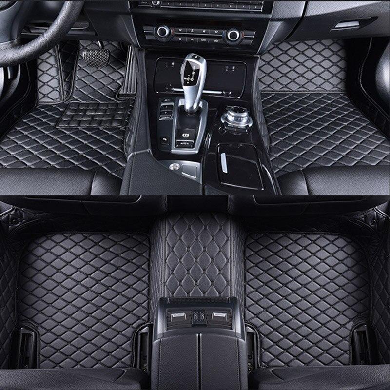 Spécial de voiture tapis de sol pour HUMMER H2 H3 car styling auto accessoires de voiture Autocollants tapis Personnalisé pied tapis 3D Noir /rouge/Gris