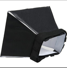 Newest 4″x5″/10cmx13cm Universal Foldable Flash Light Diffuser Softbox for Most camera flashes