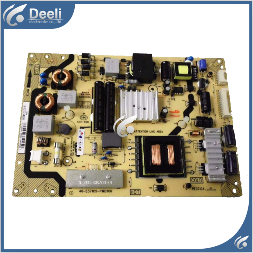original USED for power board for TCL L42E5300D 40-E371C6-PWG1XG board for tcl l40f3200b article lamp 40 down lj64 03029a lta400hm13 screen 1piece 60led 455mm 2pieces lot