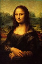 Mona Lisa by Leonardo Da Vinci Handpainted