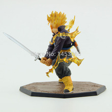 Dragon Ball Z Super Saiyan Trunks Battle Action Figure