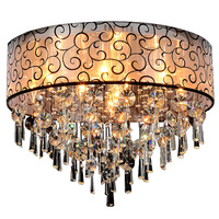 Modern Crystal Ceiling Lights For Living Room Plafon Led Crystal Ceiling Lamp Fixtures For Bedroom Free