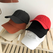 COKK Baseball Cap Men Soft Snapback Dad Hat Women Solid Colo