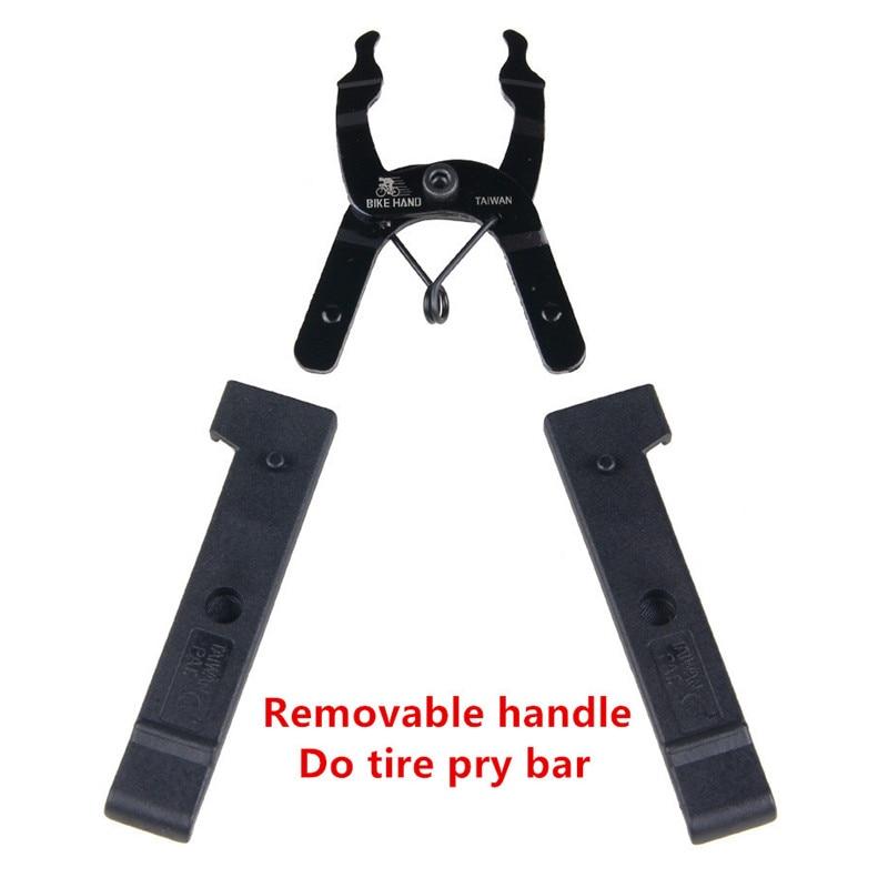 BikeHand Modular Bicycle Chain Wrenches Removal Tool Tire Pry Bar - Հեծանվավազք - Լուսանկար 4