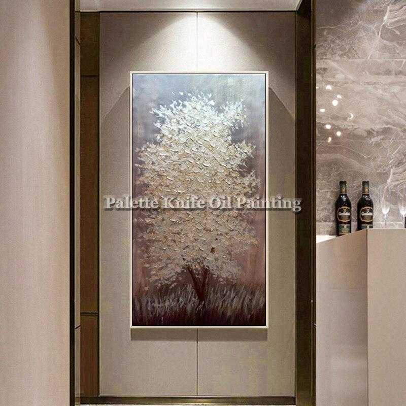 Malba na plátně Květina akrylová Malba na zeď Nástěnné malby Obrazy pro obývací pokoj domácí dekor paletový nůž 3D textura caudro dekor7