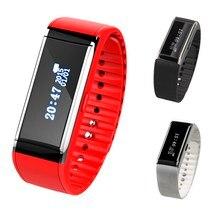 จัดส่งฟรีสายรัดข้อมือสมาร์ทสร้อยข้อมือนาฬิกาสุขภาพPedometerแคลอรี่ติดตามการออกกำลังกายL3EF