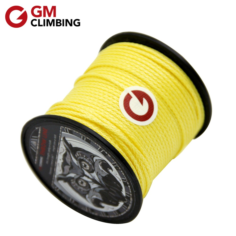 GM CLIMBING Rope Arborist Throw Line 180ft 650lb / 1000lb Backpacking Camping Hiking Rigging Tree Climbing Equipment