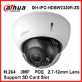 Dahua 3MP 2.7-12mm Varifocal Lens Full HD Waterproof Vandalproof Network IR Dome Camera IPC-HDBW2320R-ZS Replace IPC-HDBW2300R-Z