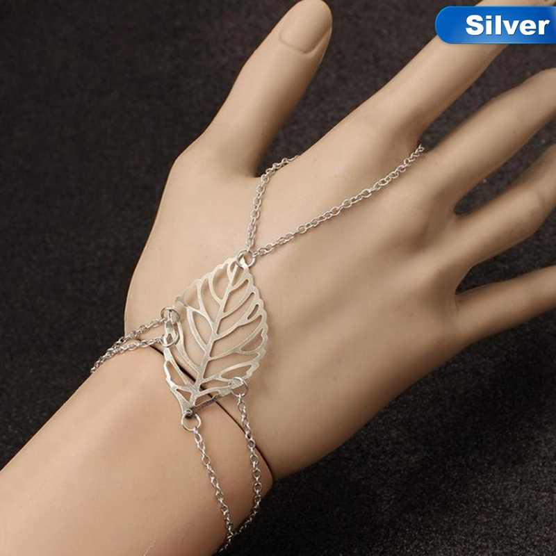 New Arrival European And American Leaves Jewelry Simple Ladies Bracelet For Gift Drop Shipping
