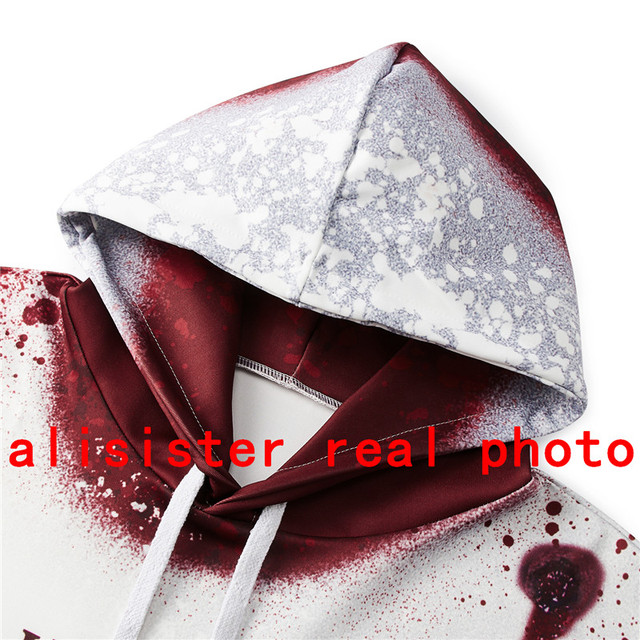 Alisister I'm Fine Horror Wound 3d Hoodies  4