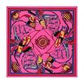 2015 Women's Silk Twill Scarf Luxury Brand 100% Silk Scarves Classic Printed Colorful Scarf 130cm*130cm Silk Shawl