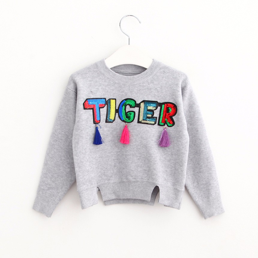 Girls Cardigan Sweater (1)