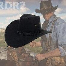 RedDeadRedemption 2 шапки RDR2 детей косплей мультфильм шляпа Артура Моргана Ковбой шляпа