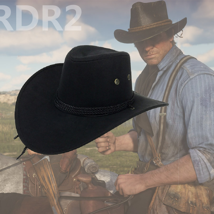 US $3 83 10% OFF|Red Dead Redemption 2 Caps Hats RDR2 Children Cosplay  Cartoon Hat Arthur Morgan Cowboy Hat-in Cartoon Hats from Toys & Hobbies on