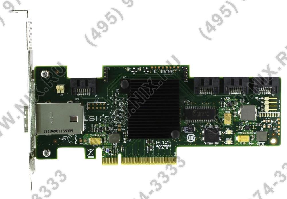Avago Raidstorage Portas Raid Sas 9212-4i4e Hba Jbod Satax4 Sff8087 6 gb Pci-e 2.0×8 Controlador Cartão Lsi Lsi00192 8