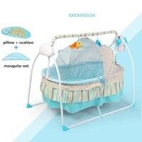 Мода Электрический Детские кроватки/Детская кроватка, Электрический детская колыбель, люлька, большой Sp100 * 55 см