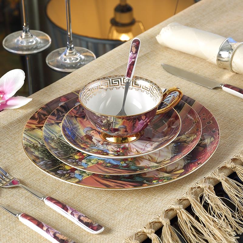 online kaufen gro handel china geschirr set aus china. Black Bedroom Furniture Sets. Home Design Ideas