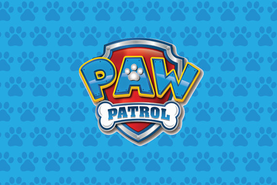 HUAYI 5x7ft Girl Paw Patrol Birthday Party Background Decoration BackdropXT
