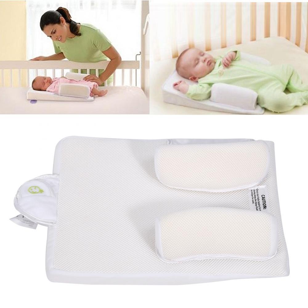 Infant Newborn Sleep Positioner Prevent Flat Head Shape