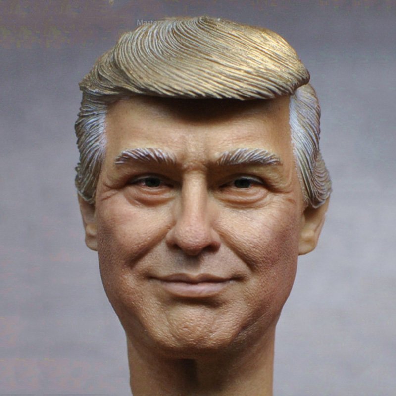 1/6 Scale USA President Donald Trump Head Sculpt Limited Stock Collections for 12 inches Body Figure new arrival hot 1 6 scale 45th president of the united states donald trump figures and clothing set
