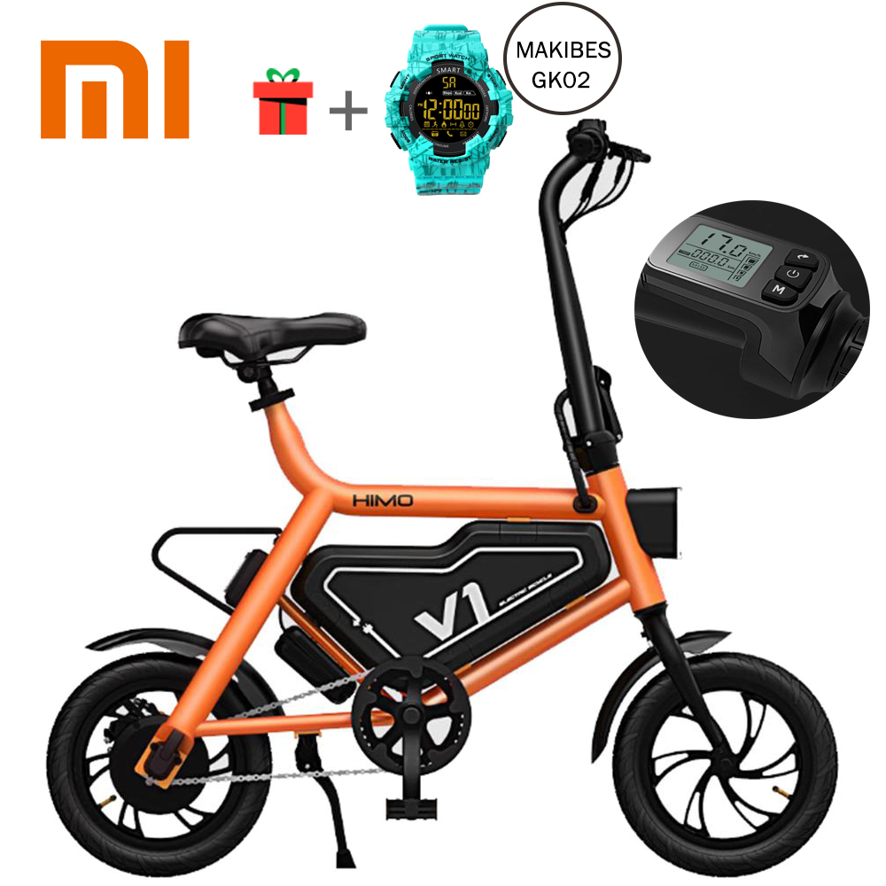 New 100% Original Xiaomi HIMO Bike Portable Folding Electric Assist Smart Bicycle Foldable Ergonomic Design Multi-mode Riding