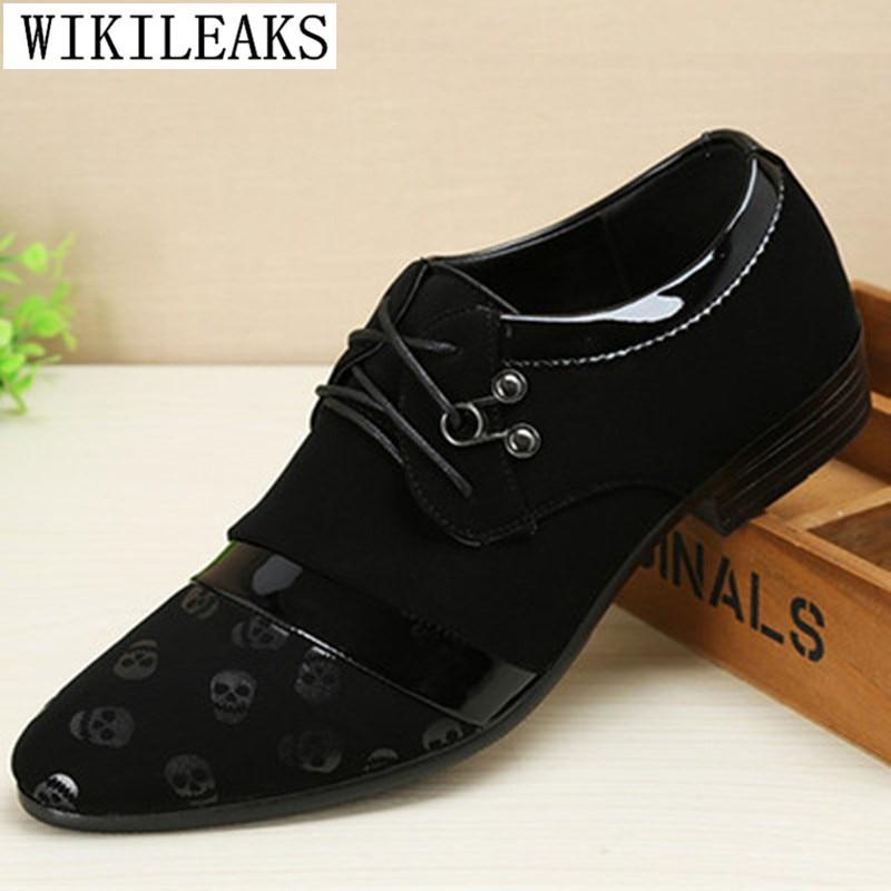 New Designer Men Formal Wedding Shoes Luxury Brand Men Business Oxford Shoes For Men   Suede     Leather   Dress Shoes Zapatos de hombre