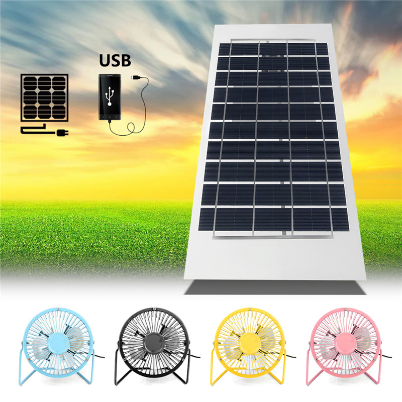 6W 5V 380x170mm Semi Flexible A-Class Sun Power USB Solar Panel For Home Free Power Smart Phone Fans