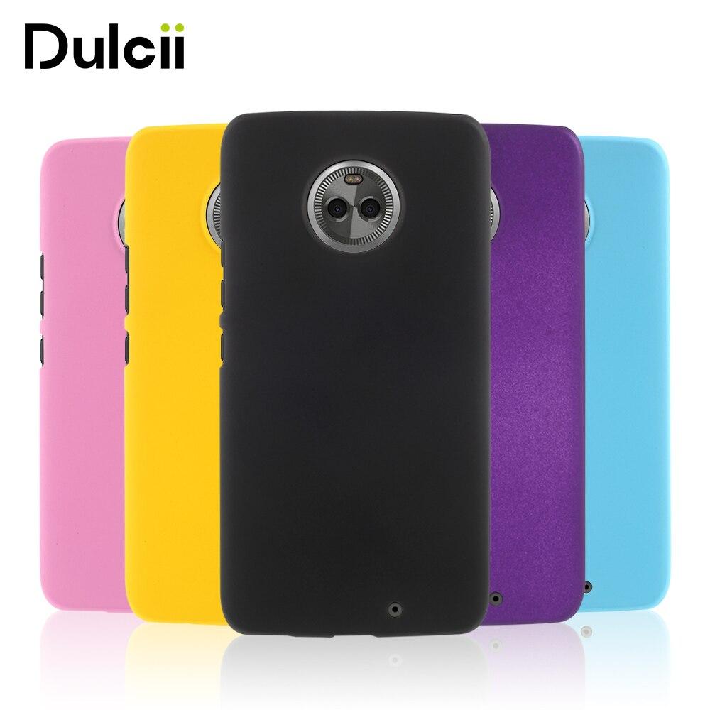 Dulcii For moto x4 Case Rubberized PC Hard Accessor