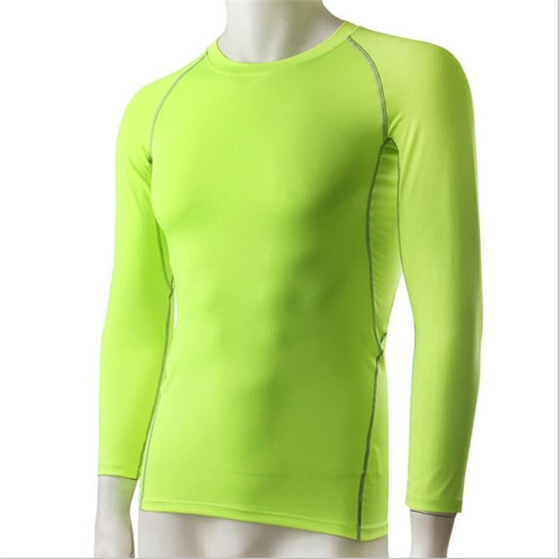 Mens Turtle Neck Mesh Black Green Compression Long Sleeve Sports Base Layer Gym