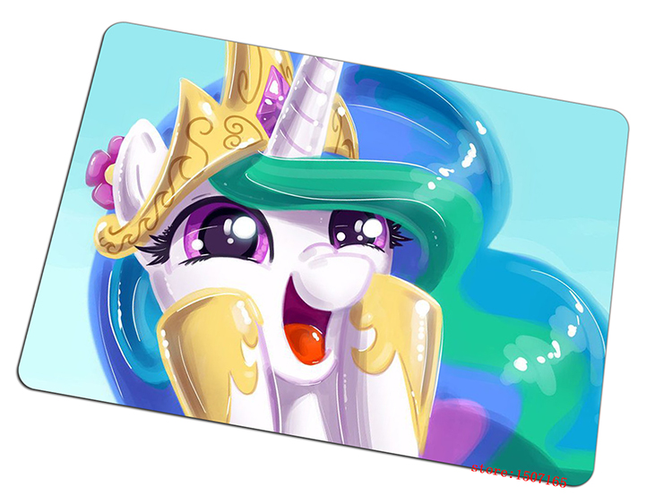my little pony mouse pad Personality gaming mousepad Customized gamer mouse mat pad game computer padmouse keyboard play mats