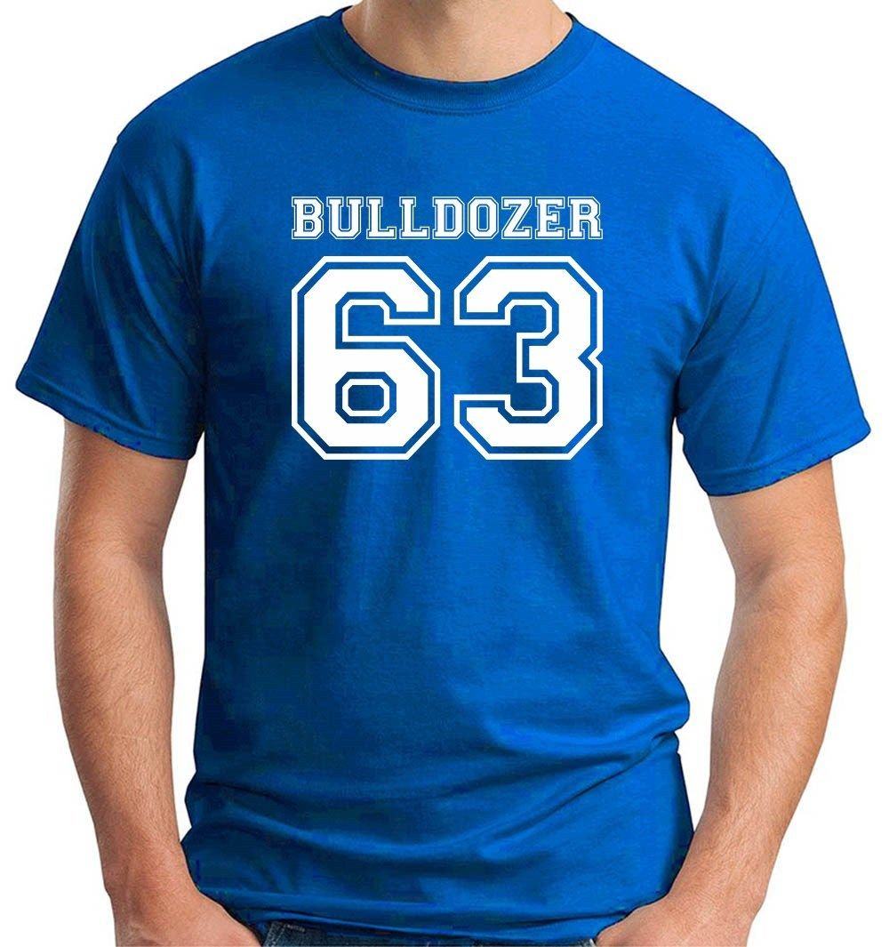 2017 design Lo Chiamavano Bulldozer Bud Spencer T0854 Print Tee Shirt High Quality Short Sleeve Tee