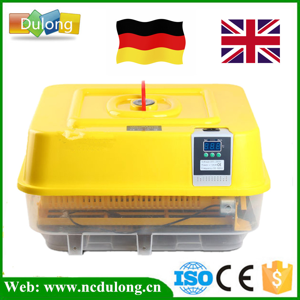 New Model Poultry Egg Incubator Hatching Machine Automatic LED Display 39 Chicken Egg Incubator hot sale full automatic poultry egg incubator 96 chicken egg hatching machine 12v and 220v available