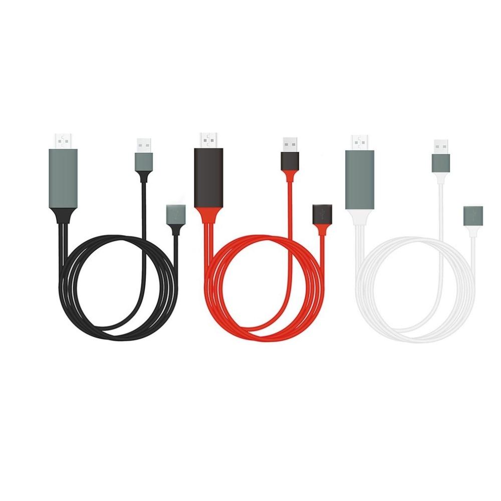 ⑧Plug & Play 1080P MHL Micro USB MHL to HDMI Cable Adapter