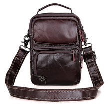 JMD Vintage Tanned Leather Womens Messenger Bag Casual Sling for Men Shoulder 1010C