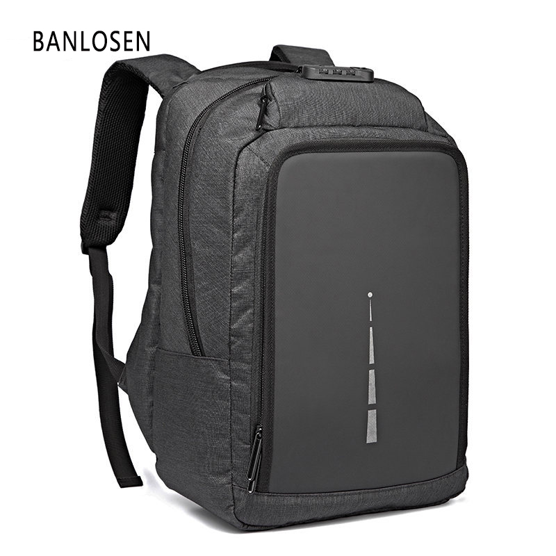 Men Laptop Backpack For 15.6 inch USB Anti-theft Computer Backpacks For Teenager Male Gray Bags Daypack Women Travel Bag Mochila usb charging backpacks casual travel men laptop backpack anti theft bags male gray daypack male mochila school bag