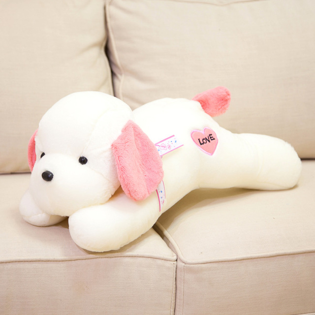 4 Colors 30 88cm Kawaii Simulation Cute Puppy Plush Toy Dog Stuffed