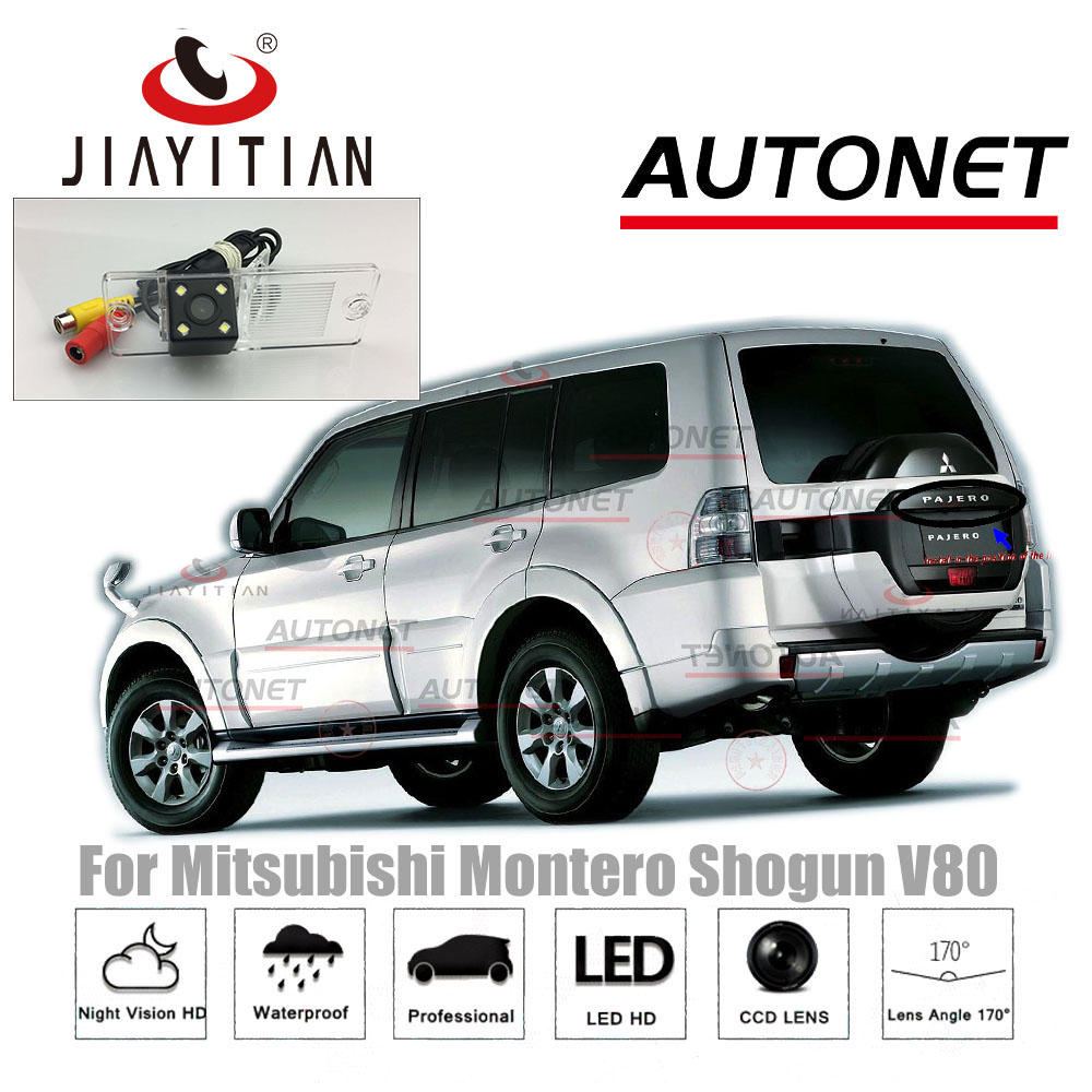 JiaYiTian Rear Camera For Mitsubishi Pajero Montero Shogun V80 V93 Mk4 CCD Backup Camera License Plate Camera Parking