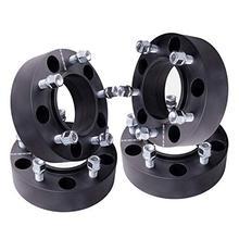"""4 шт. Hubcentric 1,2""""(30 мм) 5 Луг прокладки колес 5x114,3 мм до 5x4,5 для Jeep Wrangler TJ, YJ, XJ, KJ, KK, ZJ, MJ, Grand Cherokee"""