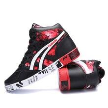 Men's Graffiti Style High Top Sneakers