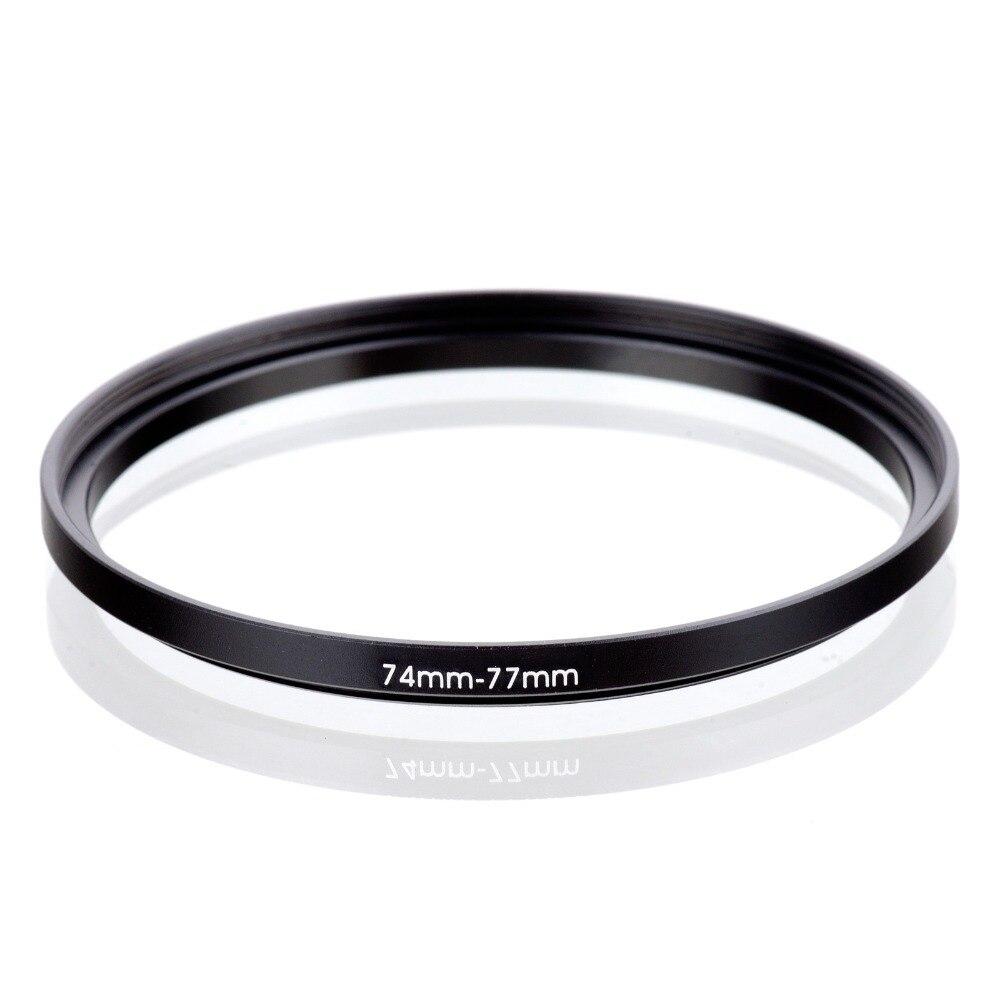 74-77mm adaptador anillo filtro 74mm-77mm adaptador 74-77 mm