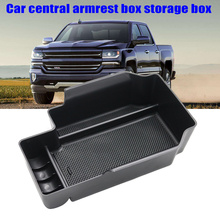 New 1pc set Car Center Armrest Storage font b Box b font Vehicle Organizer Compatible with