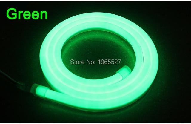 Ac 110v 220v single color green led neon flexible strip light ac 110v 220v single color green led neon flexible strip light80ledsm mozeypictures Image collections