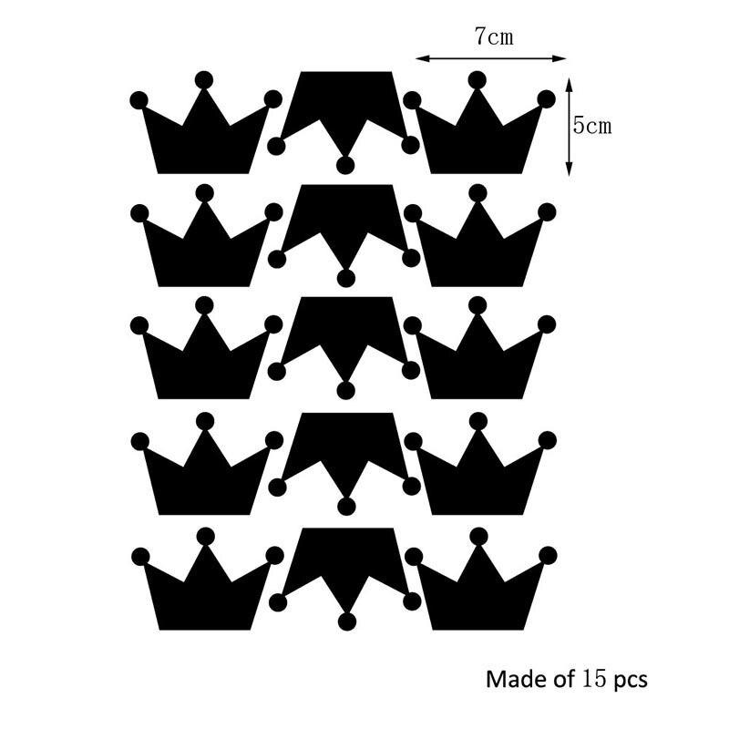 טפט קיר בדוגמת כתר  6