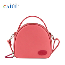 CAIUL Cute PU Leather Travel package bags for Fujifilm instax mini8 7s 25 50s 70 90 kitty instant camera free shoulder straps