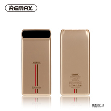 Remax RPP-18 10000mAh Power Bank Double USB External Battery Pack Lithium Polymer Backup Power Bank For Cell Phone Pad Tablet