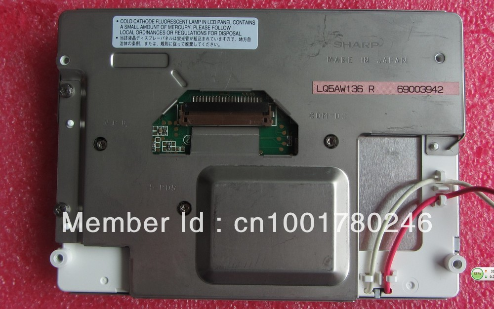 LQ5AW136 professional lcd sales new and original