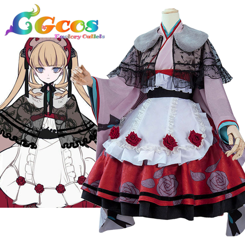 Free Shipping Cosplay Costume Rozen Maiden traumend Shin ku Reiner Rubin Uniform Dress Halloween Christmas Party