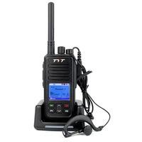 NEW TYT MD 446 UHF 5W 7 4V 2000mAh VOX Clock TDMA Digital Mobile Radio DMR