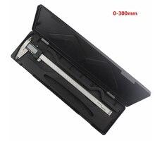 300 мм 12 дюймов Цифровой Штангенциркуль Электронный Нержавеющей Стали Правило Суппорт Датчик Диагностический инструмент 0.01 мм