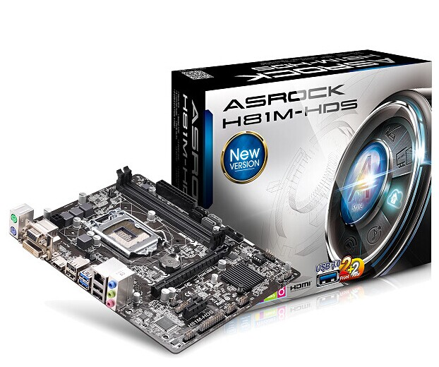 New original computer font b motherboards b font for ASRock H81M HDS HDMI support four generations